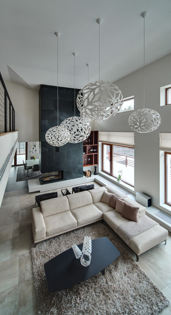 Spacious Home With A Warm Interior In Kiev Design Milk