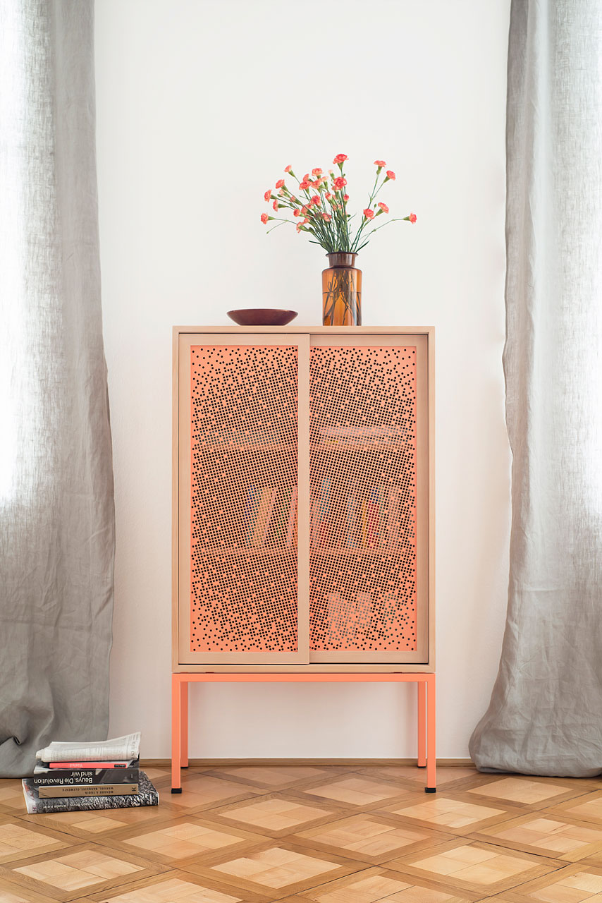 Mashrabeya is a Cabinet That Keeps Your Stuff Half Hidden