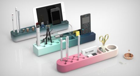 The Radiant Gradients of One Piece Desk Organizers
