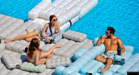 Inflatable Furniture That Double as Pool Floats