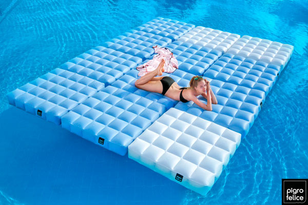 Inflatable Furniture That Double As Pool Floats Design Milk
