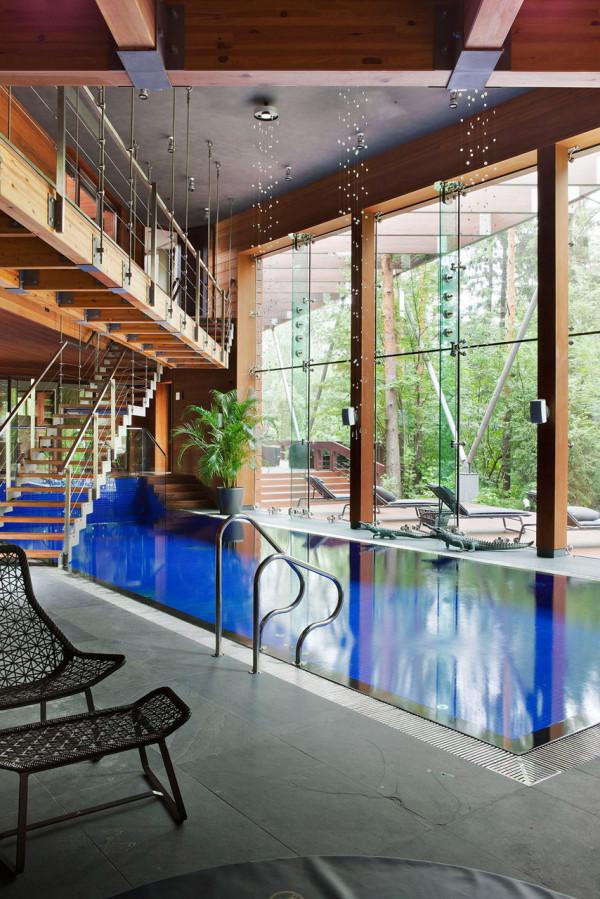 10 indoor pools with incredible views - design milk