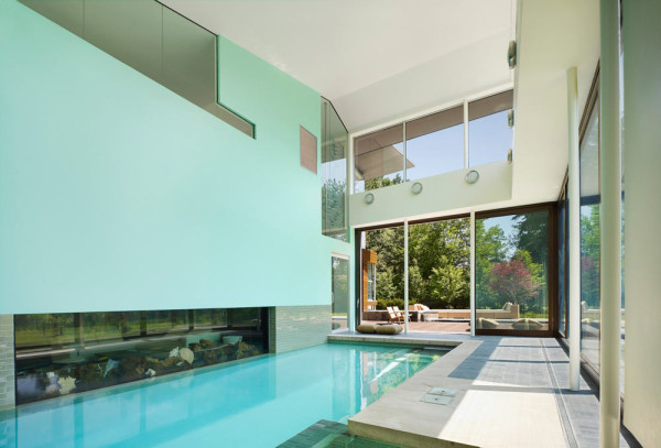 10 indoor pools with incredible views design milk for Terrace house stream online