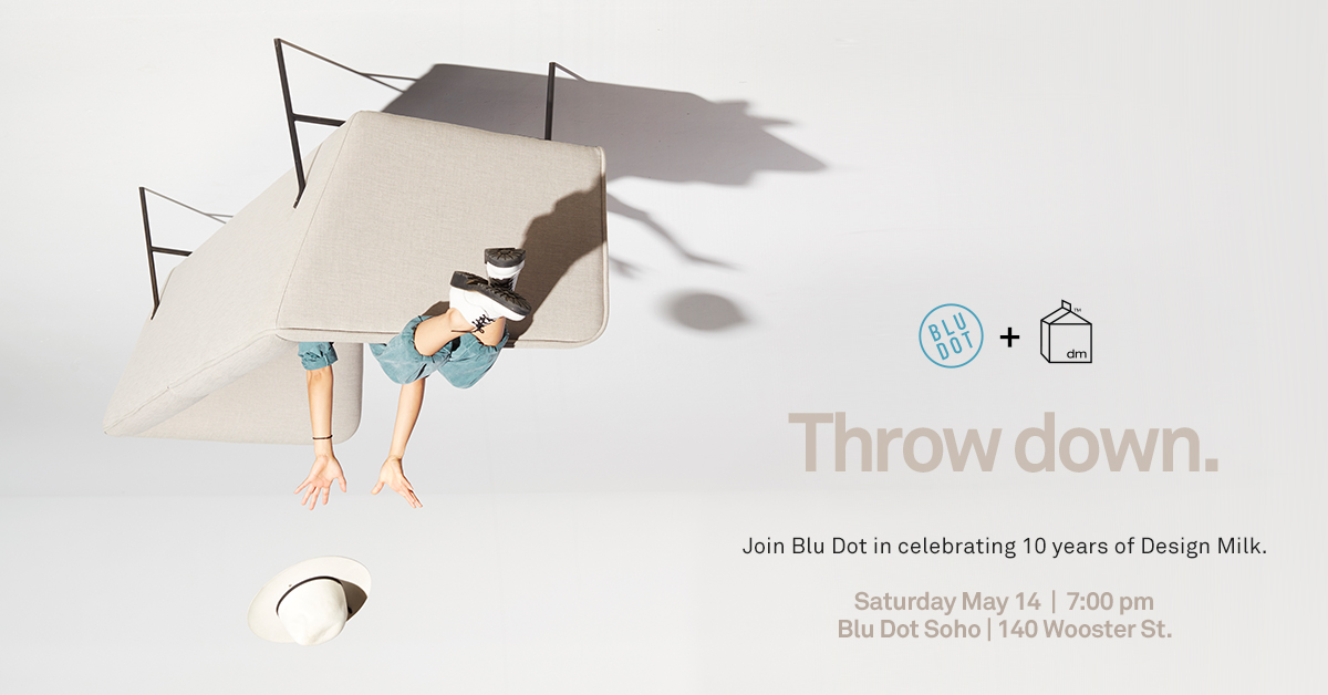 Come Celebrate 10 Years of Design Milk in NYC!