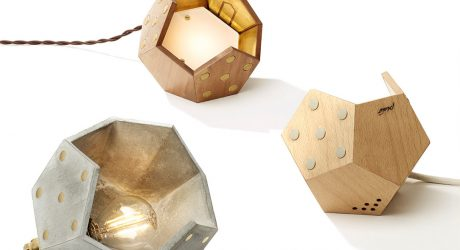 TWELVE: Modular Magnetic Lamps