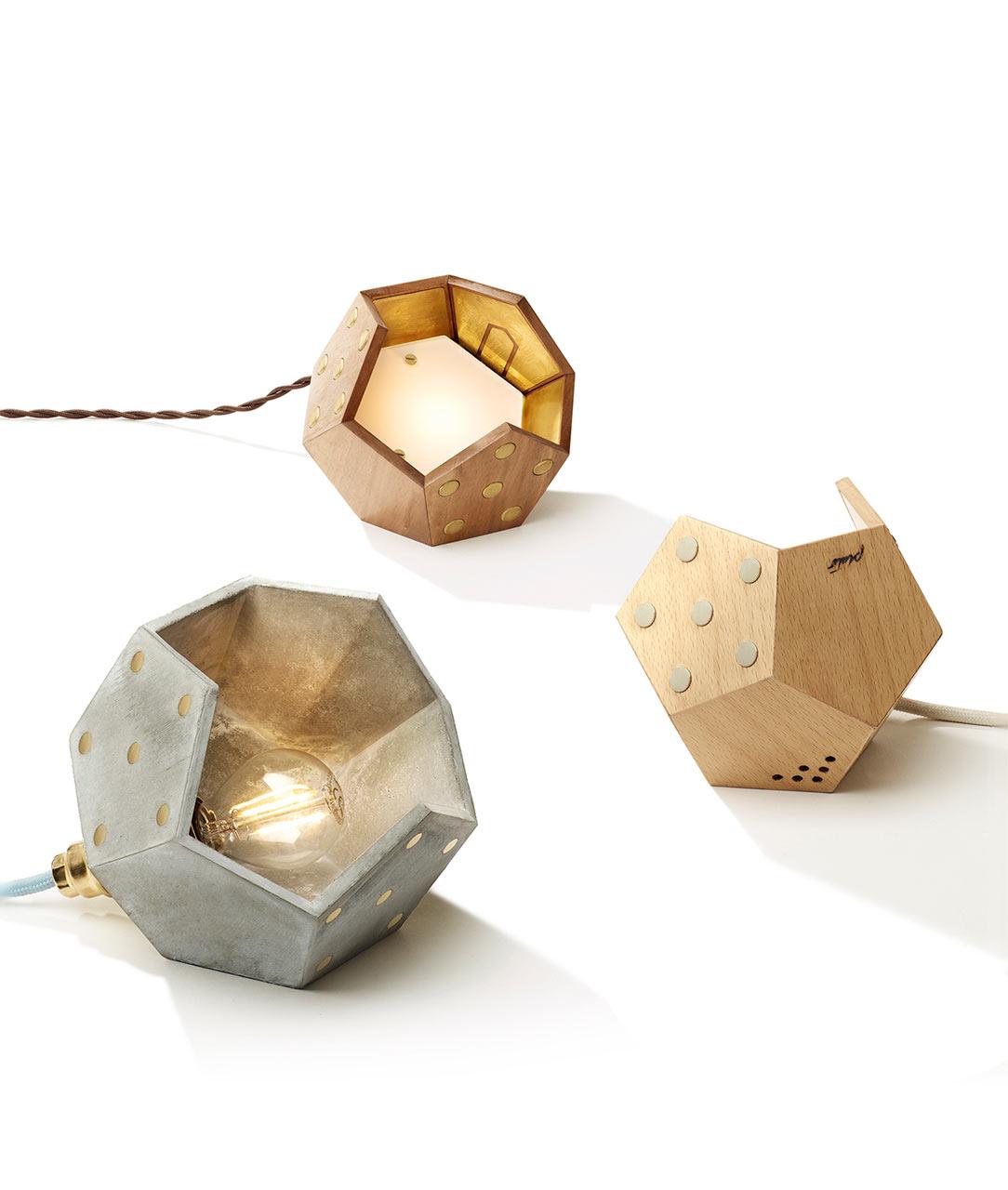 TWELVE: Modular Magnetic Lamps