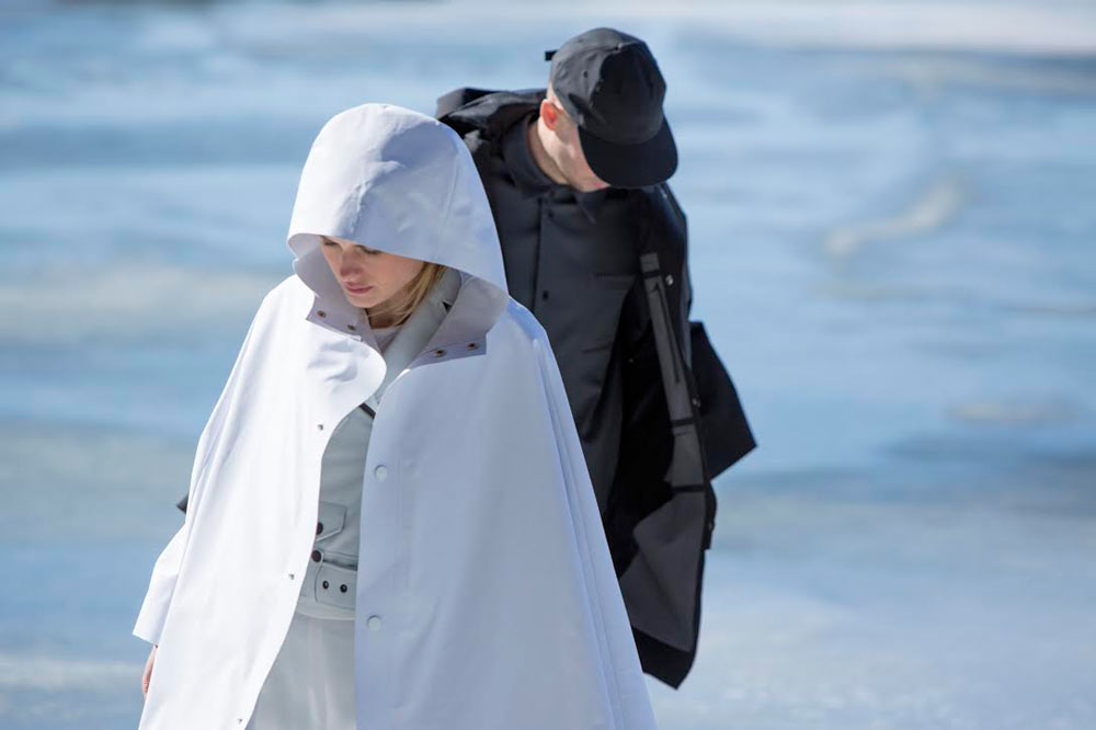The Arrivals + Snarkitecture Collaborate on a Limited Edition Poncho