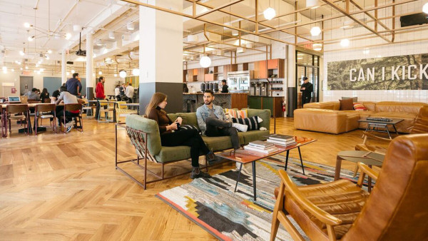 Co-working space from WeWork
