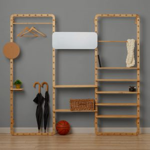 dotdotdot.frame: A Customizable, Space-Saving Storage System