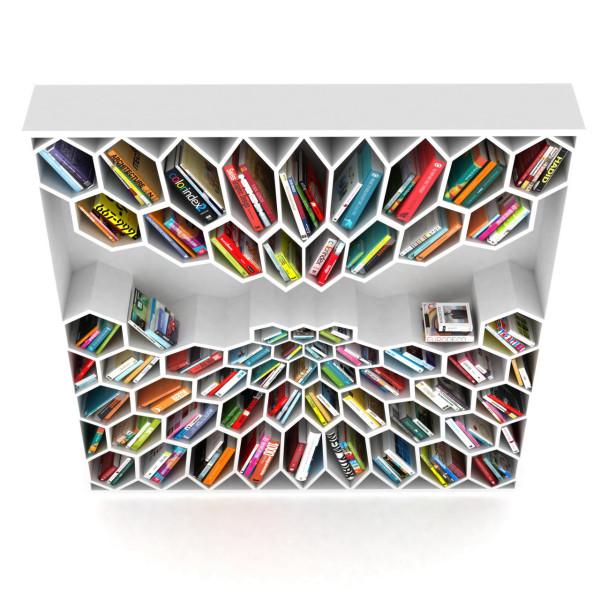 honeycomb-bookshelf
