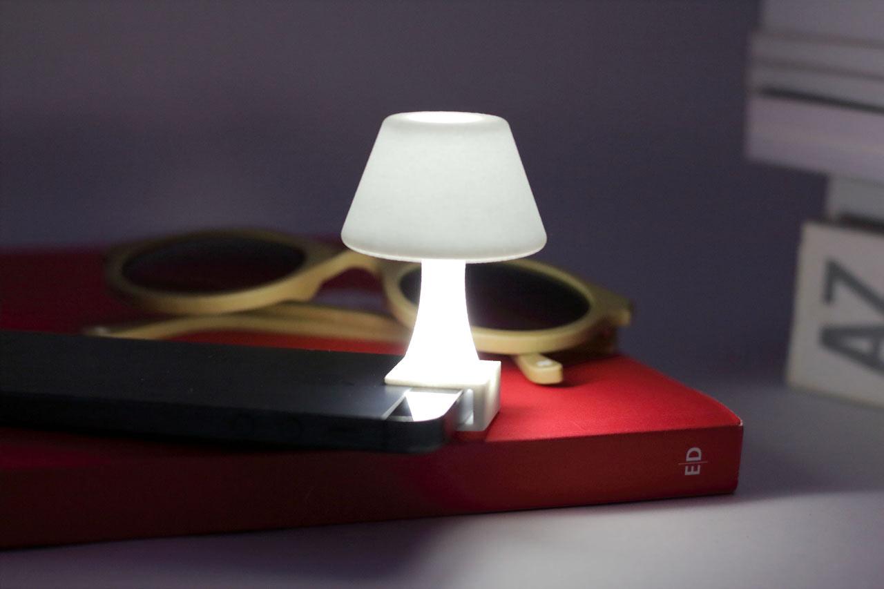 Turn Your iPhone into a Mini Lamp - Design Milk