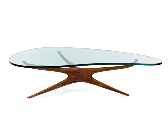 Kagan Sculpted Coffee Table Design Milk