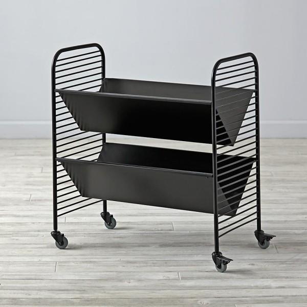 Linear Book Cart