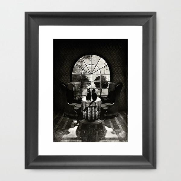 room-skull-bw-framed-prints