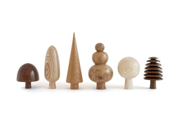 Wooden trees by Forge