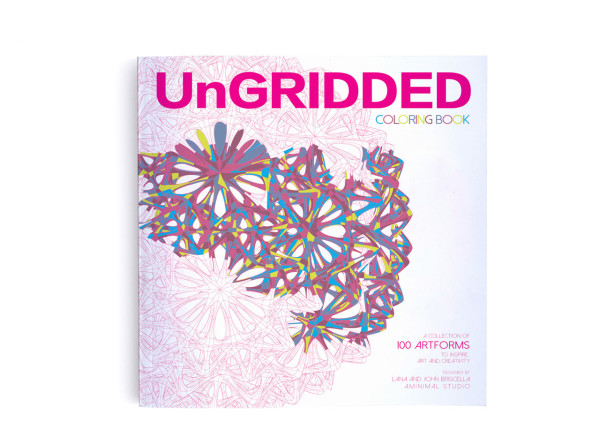 UnGRIDDED Notebooks and Coloring Books for Artists by Artists
