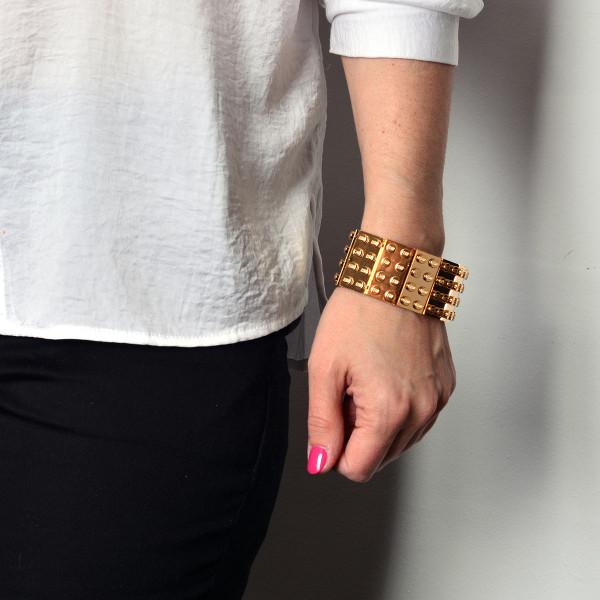 Agabag-Gold-plated-LEGO-bricks-6-bracelet