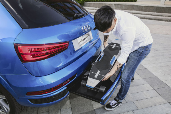 Audi Connected Mobility Bumper