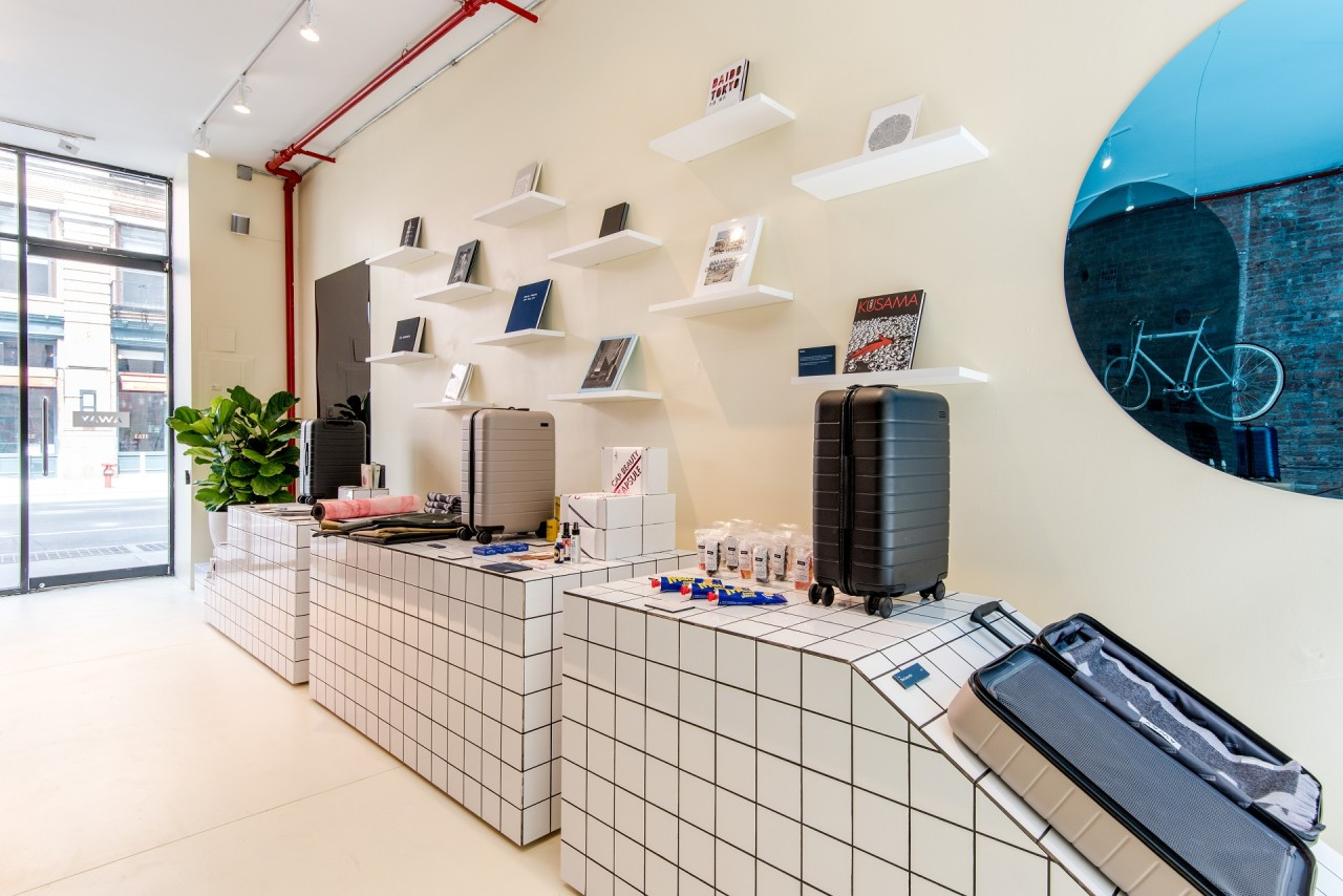 Away Opens A Concept Store Highlighting Global Destinations - Design ...