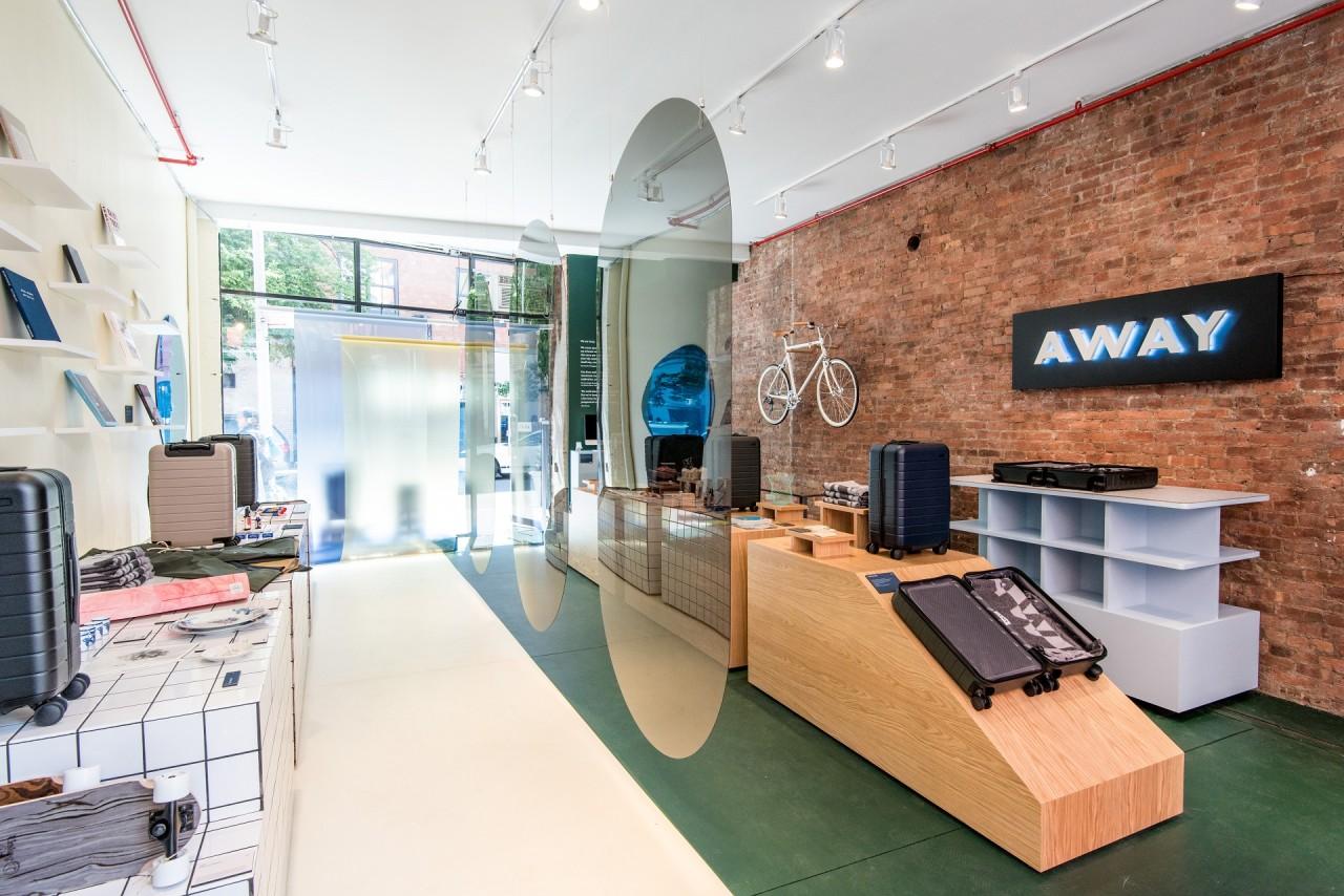 away opens a concept store highlighting global destinations design milk. Black Bedroom Furniture Sets. Home Design Ideas