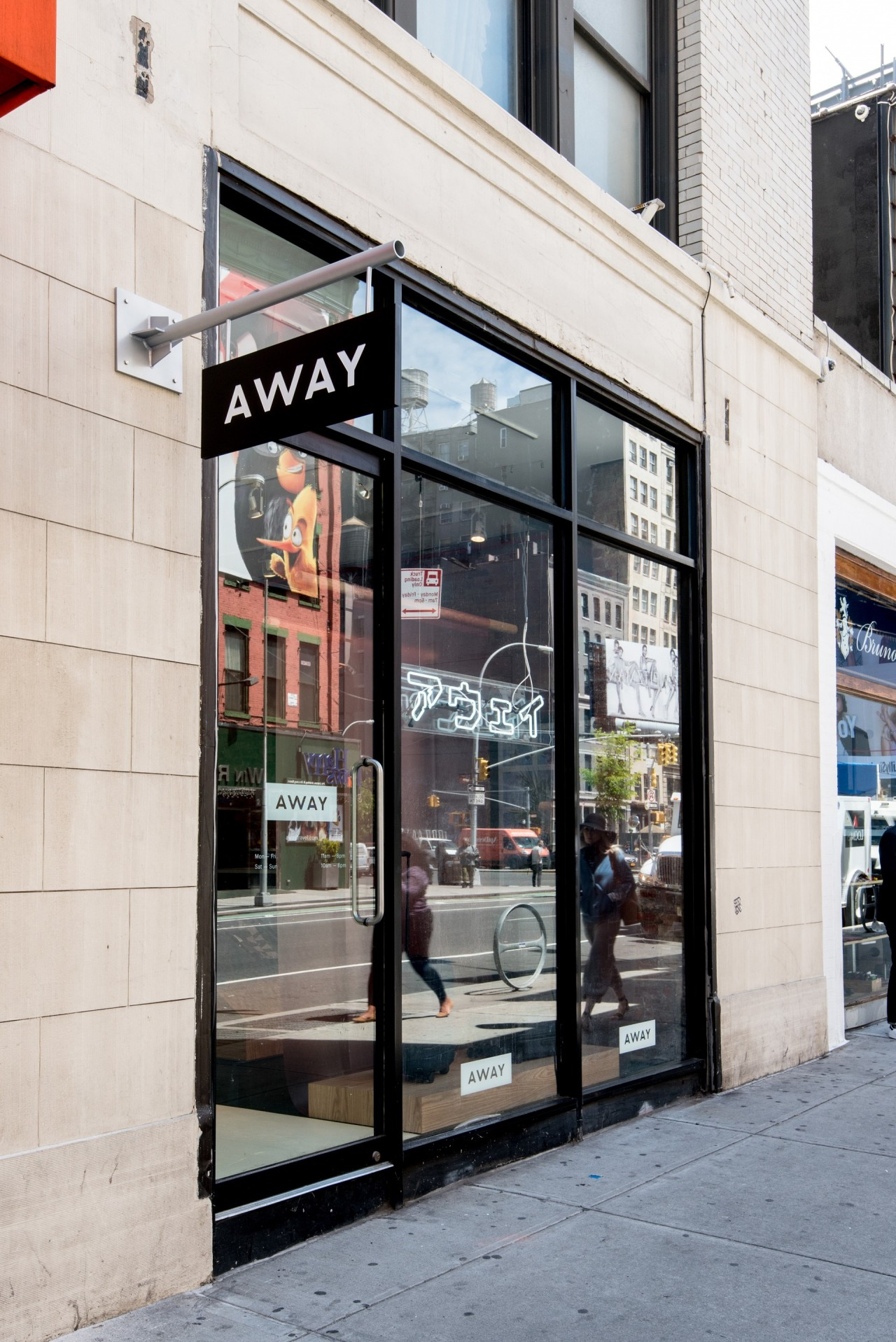 Away opens a concept store highlighting global for New ideas for retail stores