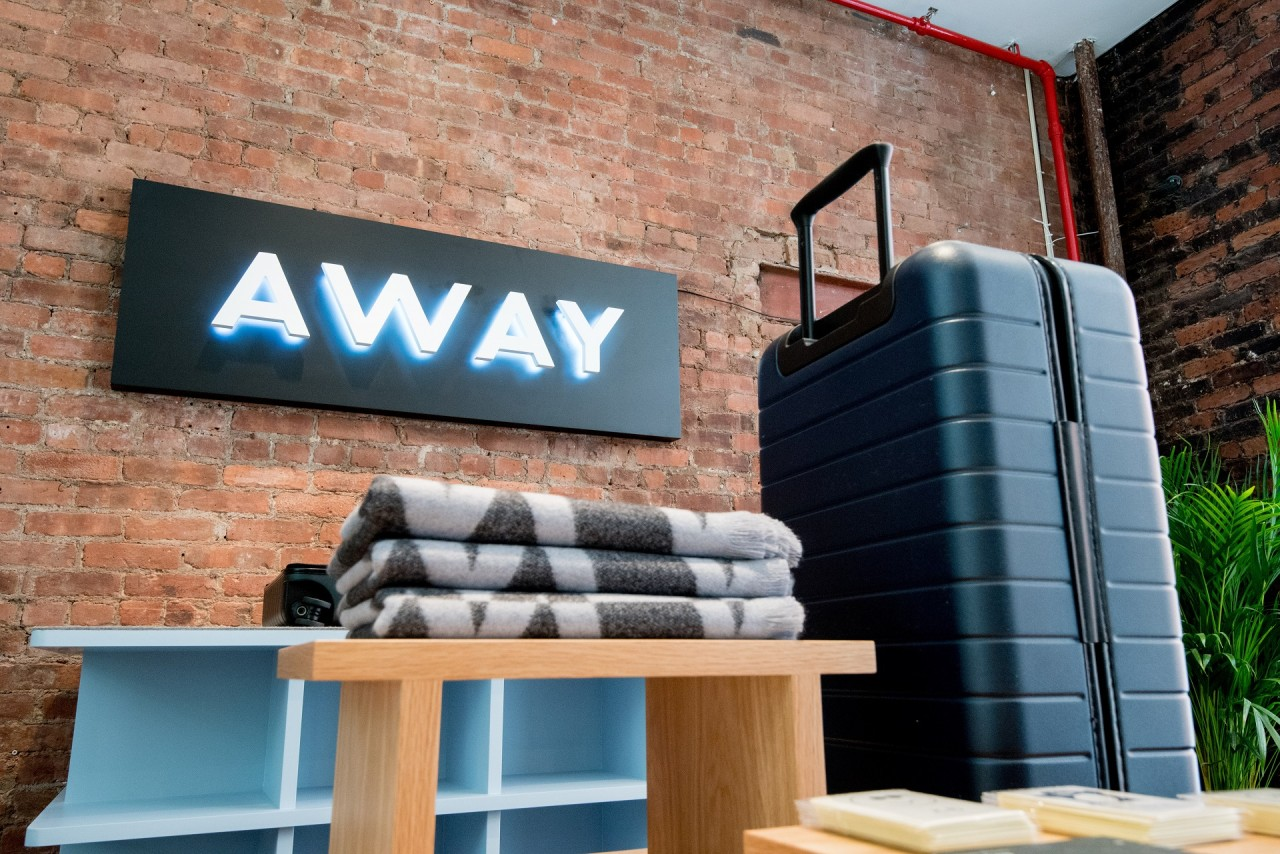 Away Opens A Concept Store Highlighting Global Destinations Design Milk