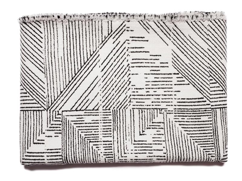 Luxurious Geometric Textiles by Beatrice Larkin