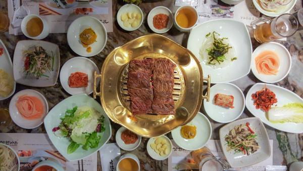 Seoul Korean food, photo by Bobby Kim