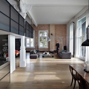 An Industrial Loft in The Netherlands