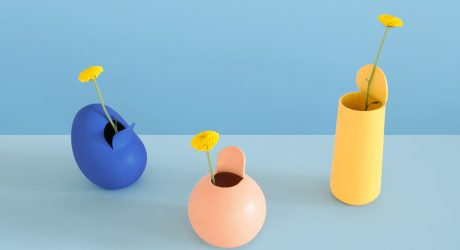 Peeled Fruits & Vegetables Reimagined as Vases