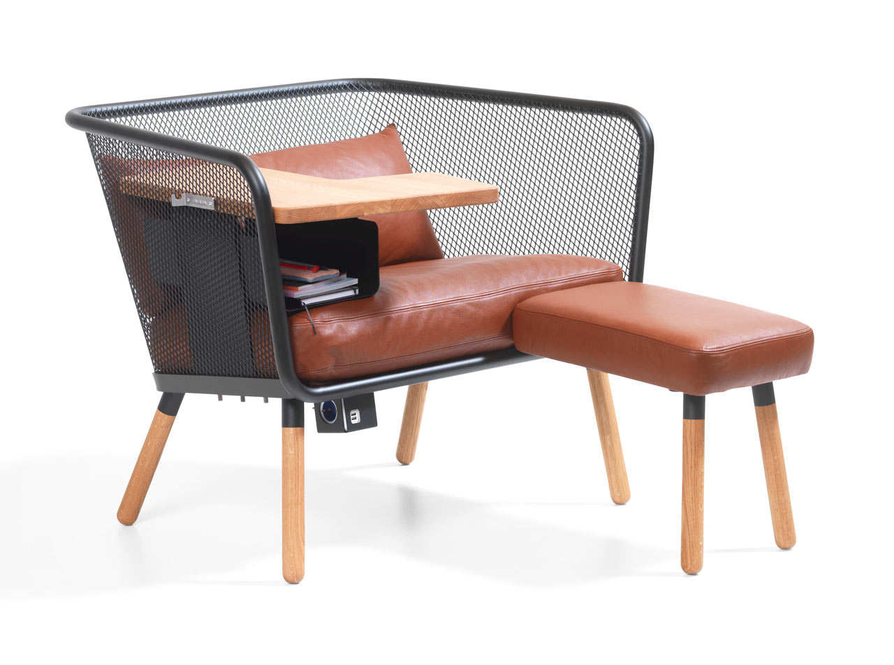 A Comfortable Workstation with Everything You Might Need