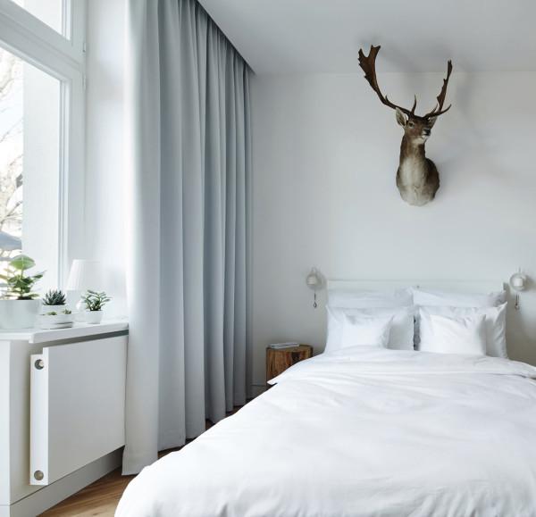 minimalist studio apartment in krakow design milk