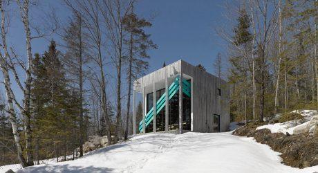 An Unusual House with a Modular Interior