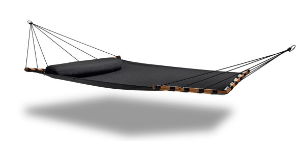 lujo double hammock black get out  modern hammocks from lujo   design milk  rh   design milk