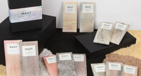 Mast Collaborates with Calico Wallpaper on Sea Salt Chocolate