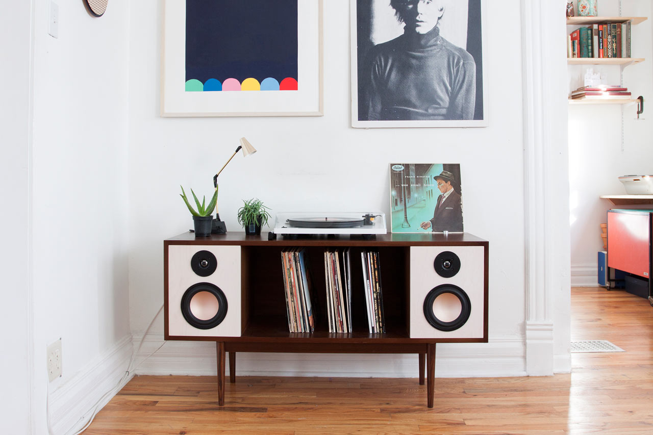 A Modern HiFi Stereo Console by Department Chicago