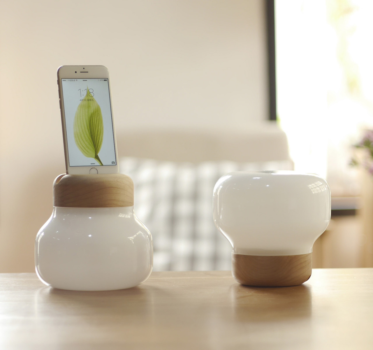 The Mushroom LED Lamp By ZISION Studio X IDMIX ...