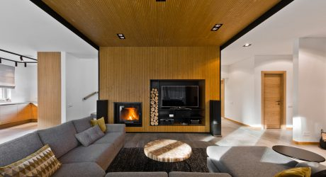 A House in Lithuania with a Modern Scandinavian Interior