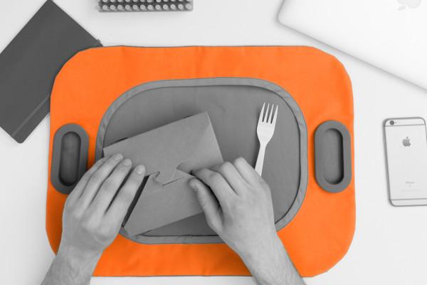 Munch Mat Takeout Bag by Danielle Marino