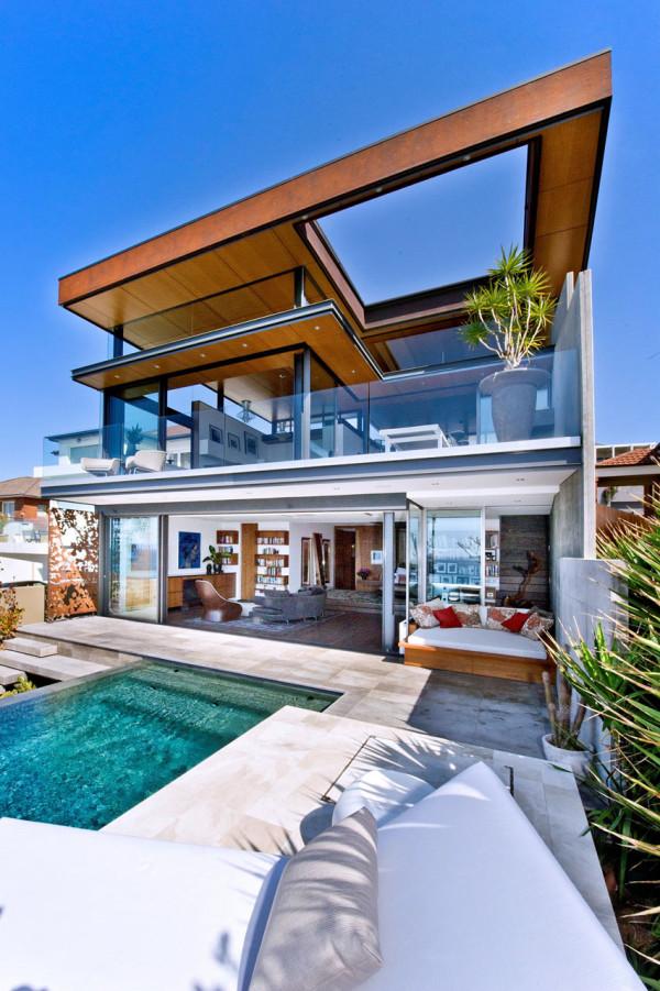 Photo courtesy of Rolf Ockert Design10 Homes Designed for Indoor Outdoor Living   Design Milk. Indoor Outdoor Living Room. Home Design Ideas