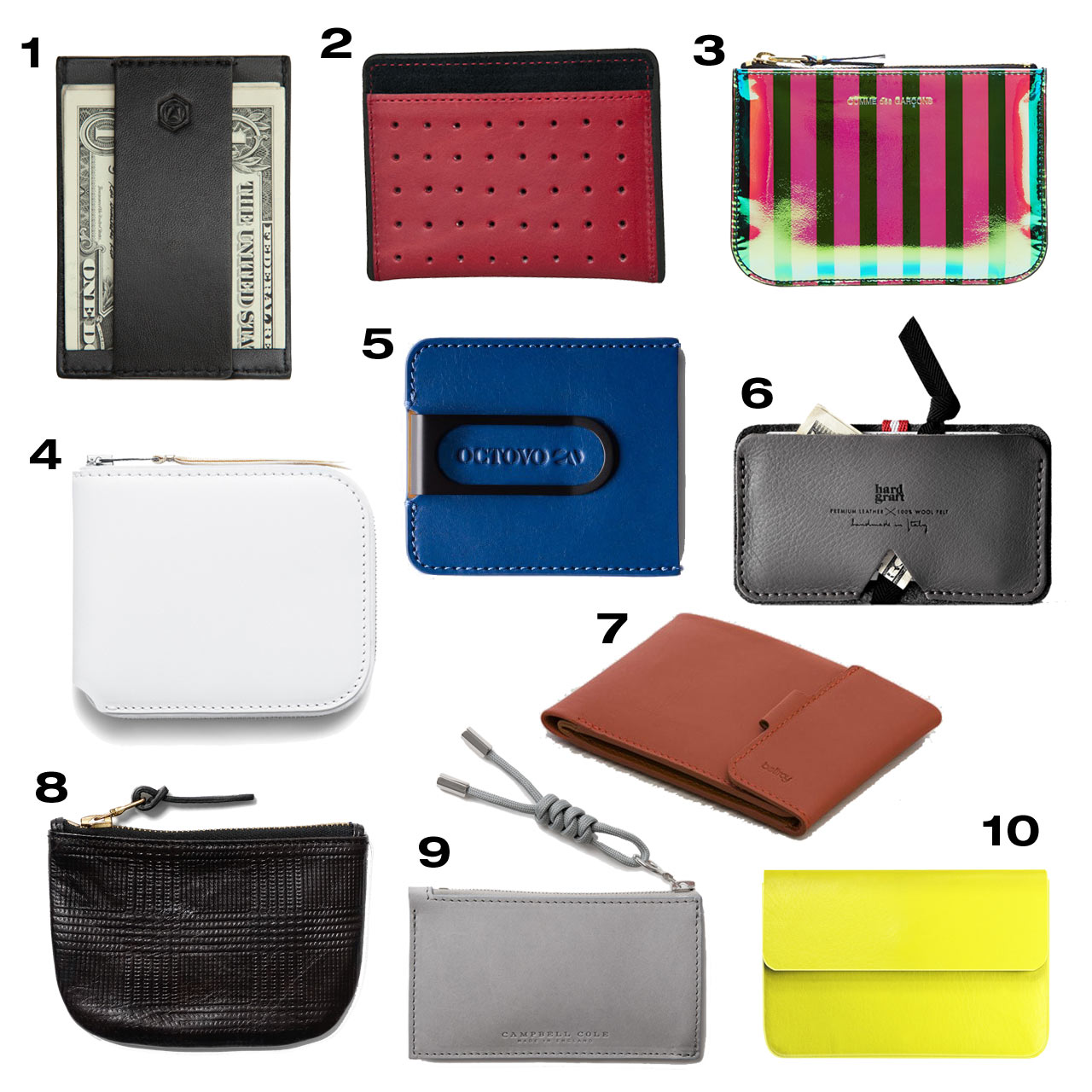 10 Small Leather Accessories for Your Pocket