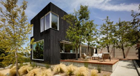 Shou Sugi Ban House by Schwartz and Architecture