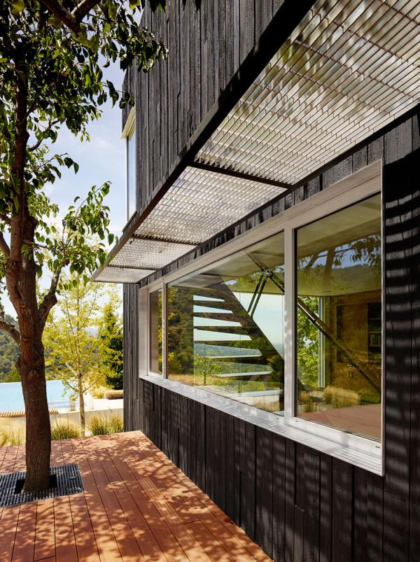 Shou Sugi Ban House Schwartz 3a. Shou Sugi Ban House by Schwartz   Architecture   Design Milk