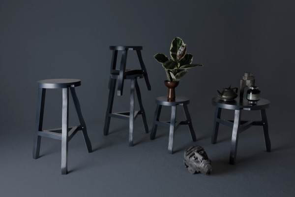 Offcut Stools - Grey
