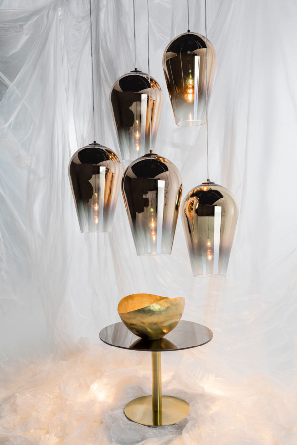 Fade Pendants - Gold