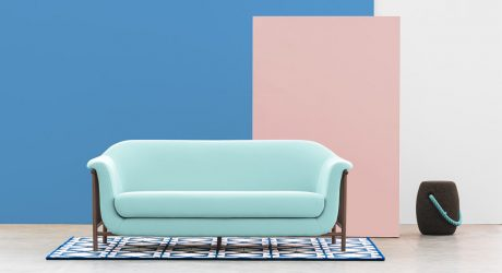 A Sofa Inspired by Balcony Serenades