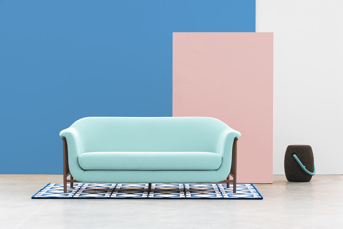 A Sofa Inspired by Balcony Serenades