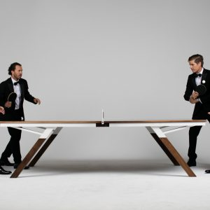 A Ping Pong Table For Design Lovers