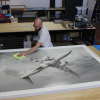large format photo framing