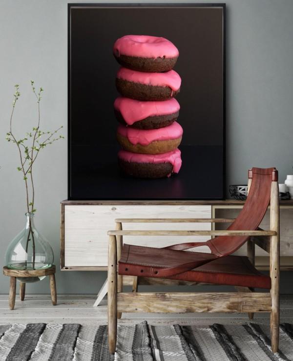 large format photo donut stack allison beonde